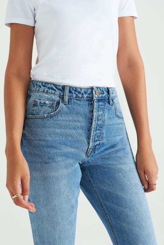 Light Blue Straight Jean
