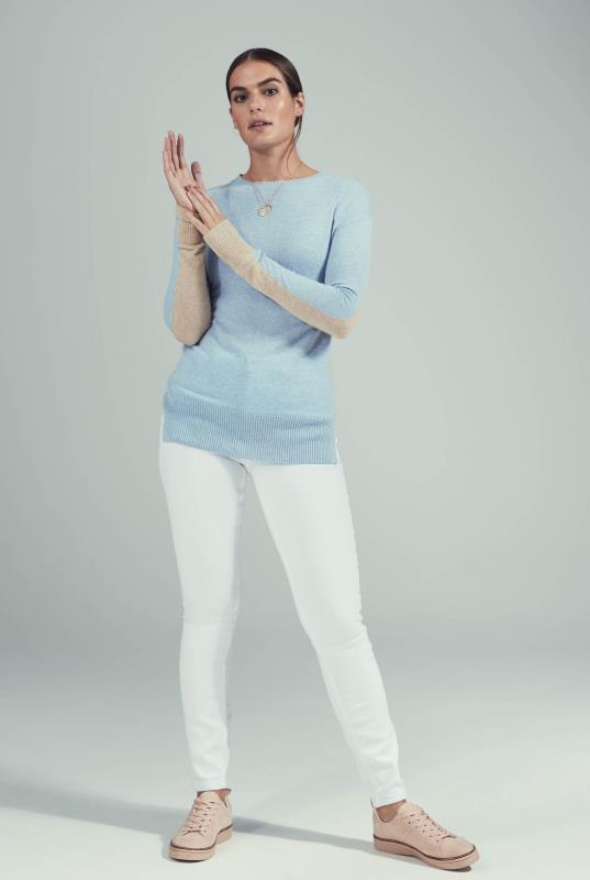 White Vintage Skinny Jeans