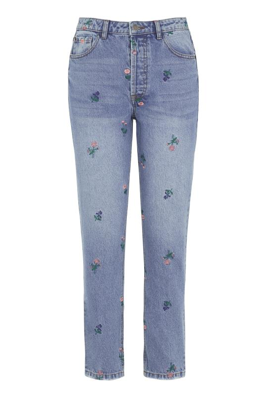 All Over Embroidered Jean