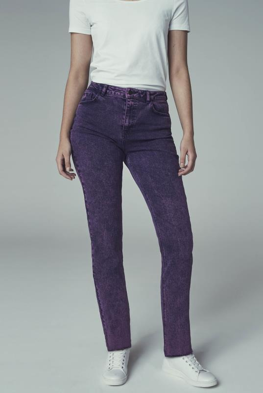 Pink Wash Authentic High Rise Straight