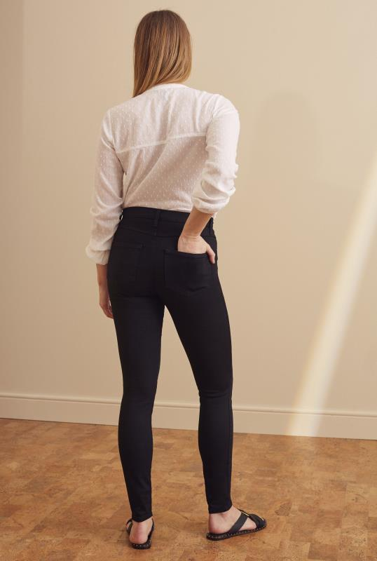 YOGA JEANS Black Rachel Skinny Jeans