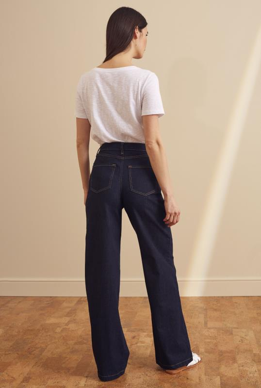 YOGA Indigo Lilly Wide Jeans