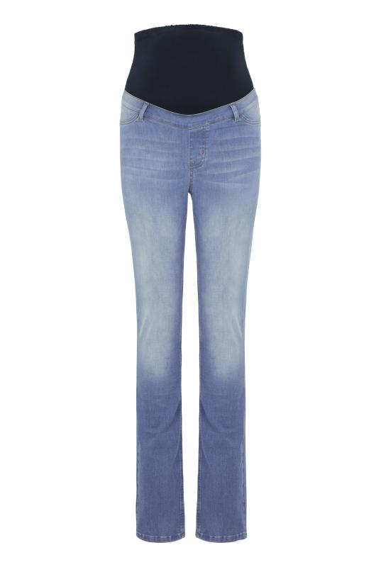 Maternity Light Blue Slim Leg Jean
