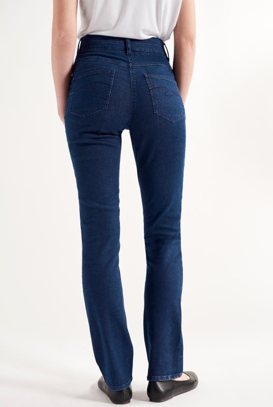 Sculpt High Rise Straight Cut Jeans