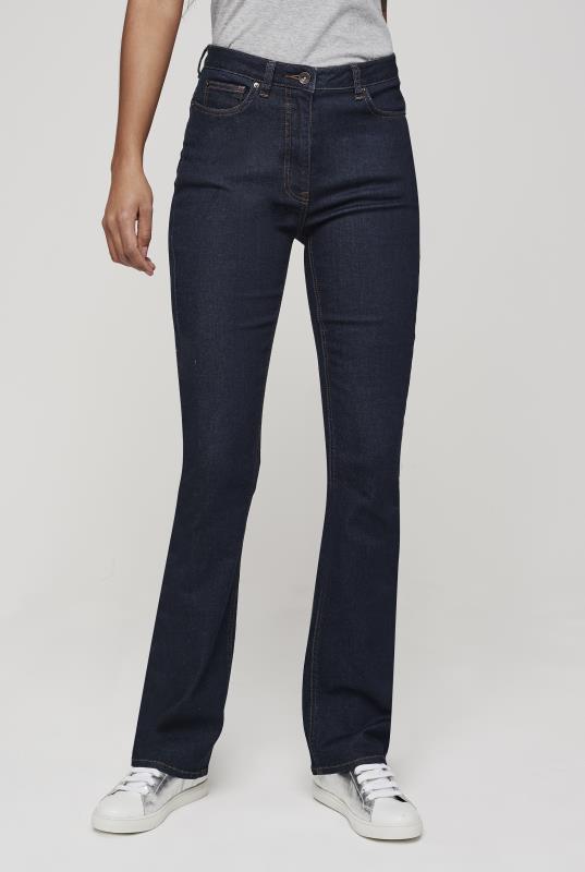 Tall Jeans Dark Indigo Shaper Bootcut Jeans