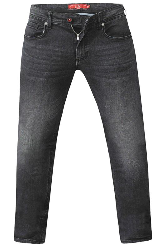 D555 Grey Tapered Stretch Jeans_F.jpg