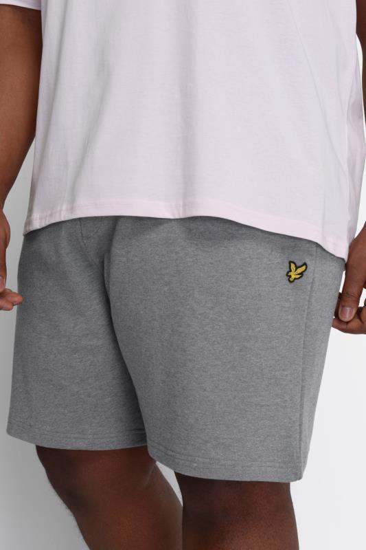 LYLE & SCOTT Grey Jogger Shorts_D.jpg