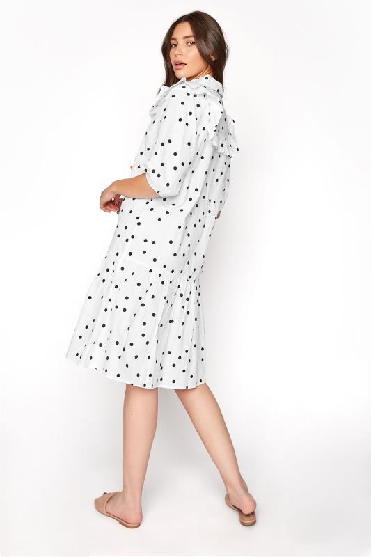 LTS White Polka Dot Puff Sleeve Dress_C.jpg