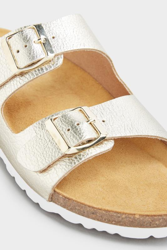 Gold Two Buckle Footbed Sandals_E.jpg
