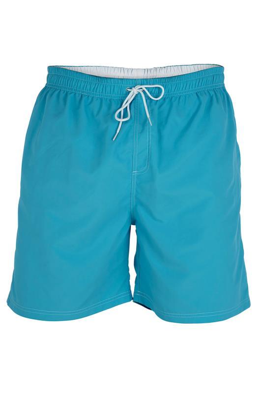 D555 Royal Blue Full Length Swim Shorts
