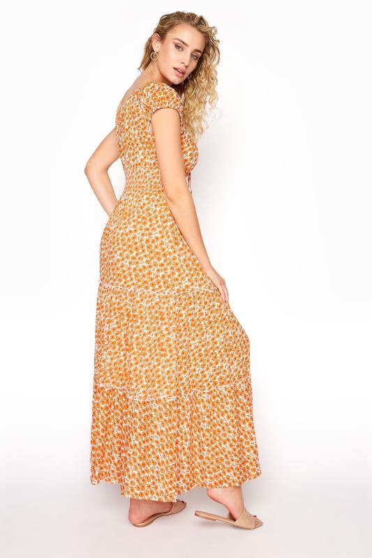 LTS Orange Tiered Shirred Maxi Dress_C.jpg