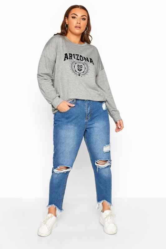 LIMITED COLLECTION Grey Marl Arizona Sweatshirt
