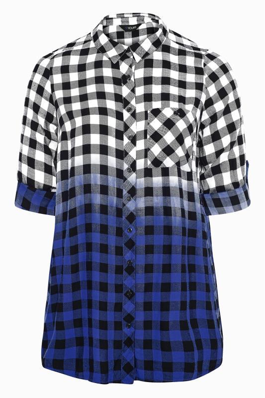 Blue Ombre Check Boyfriend Shirt_F.jpg