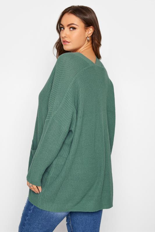 Green Button Knitted Cardigan_C.jpg