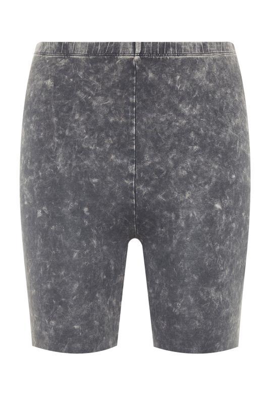 Grey Acid Wash Cycling Shorts_F.jpg