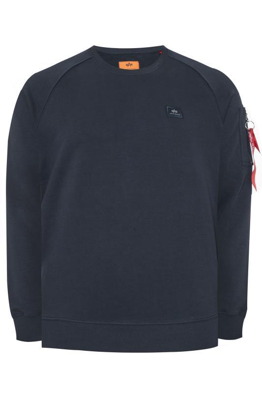 ALPHA INDUSTRIES Navy X-Fit Sweatshirt