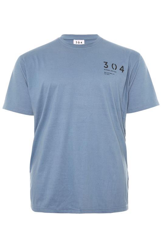 Men's  304 CLOTHING Blue Geisha T-Shirt