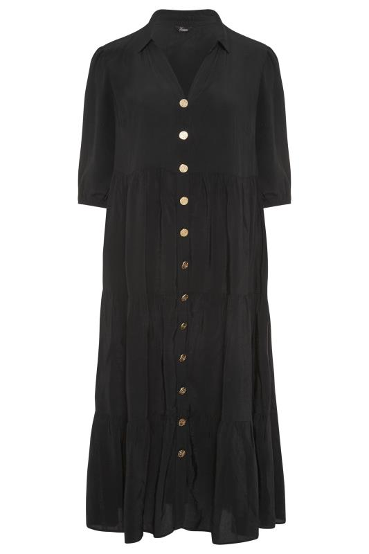 THE LIMITED EDIT Black Tiered Dress_F.jpg