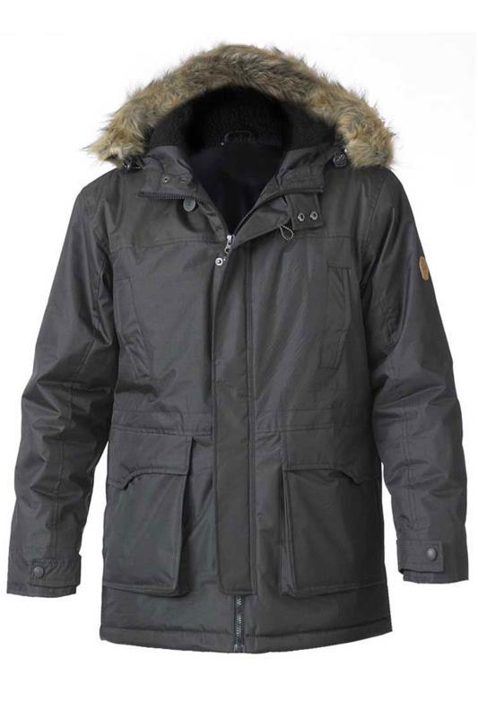 D555 Khaki Lovett Parka Jacket