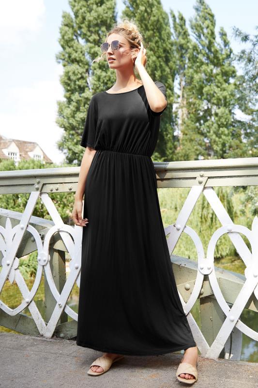 LTS Black Pocket Midaxi Dress_L.jpg