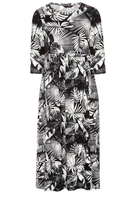 Black Leaf Print Midaxi Dress_F.jpg
