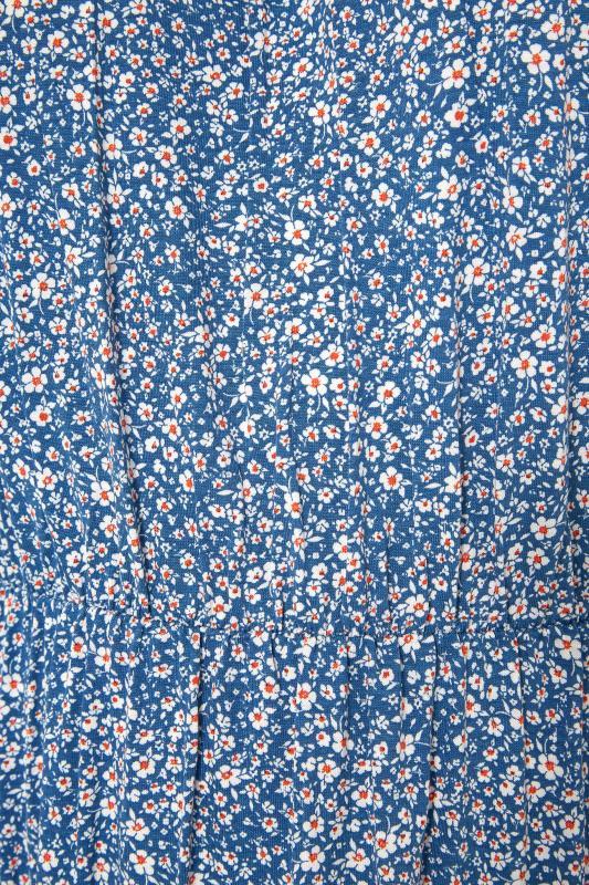 Blue Floral Cold Shoulder Maxi Dress_S.jpg