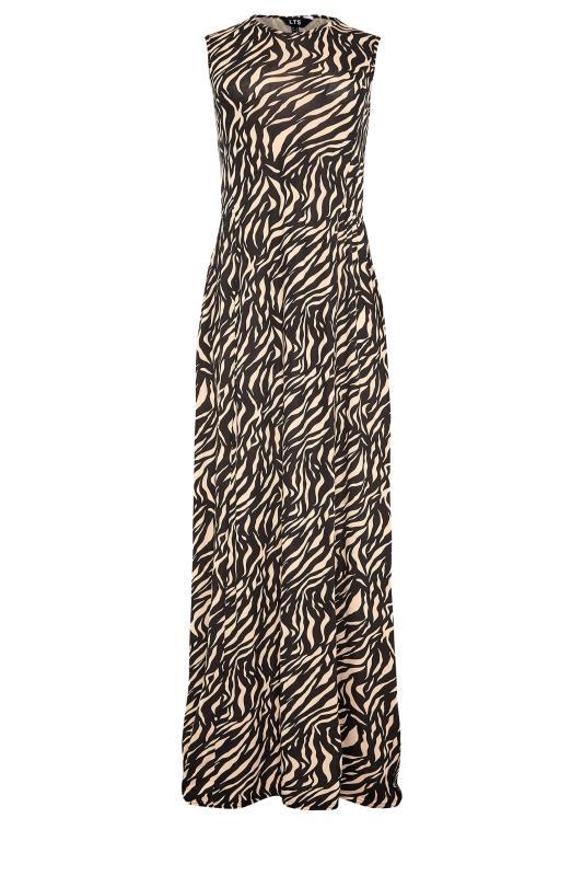 LTS Black Zebra Print Maxi Dress_F.jpg