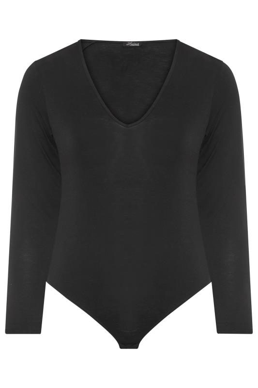 LIMITED COLLECTION Black Basic V-Neck Bodysuit