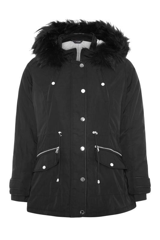 Black Fur Trim Hooded Parka_F.jpg