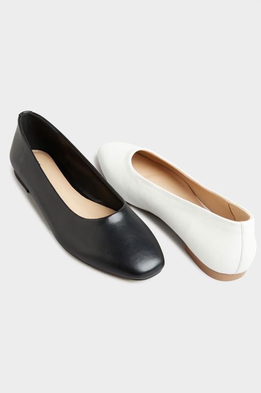LTS Off-White Almond Toe Ballerinas_E.jpg