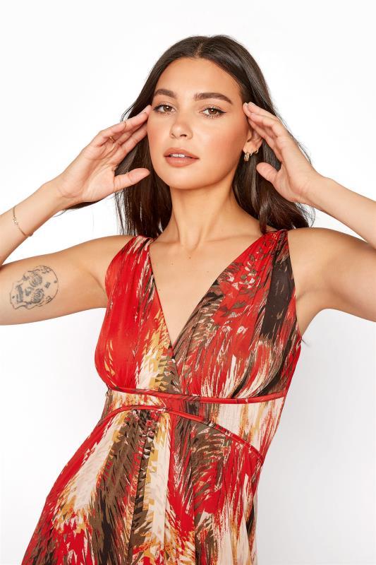 LTS Red Jersey V-Neck Maxi Dress_D.jpg