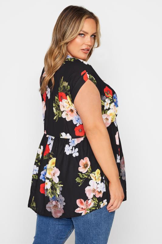 Black Floral Peplum Tunic Blouse_C.jpg