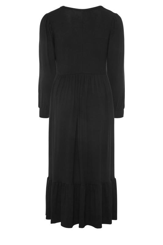 LIMITED COLLECTION Black Smock Midi Dress_BK.jpg