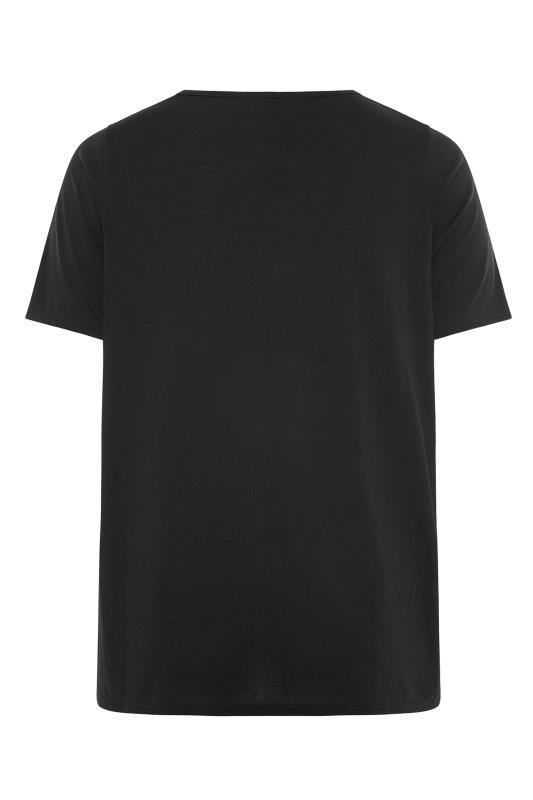 LIMITED COLLECTION Black Sun & Moon Graphic Print T-Shirt_BK.jpg