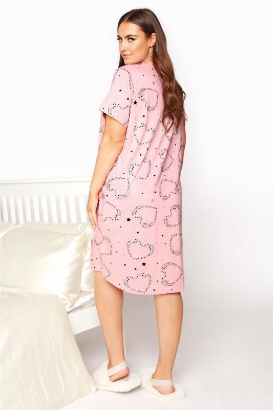 Blush Pink Star and Heart Nightdress_C.jpg