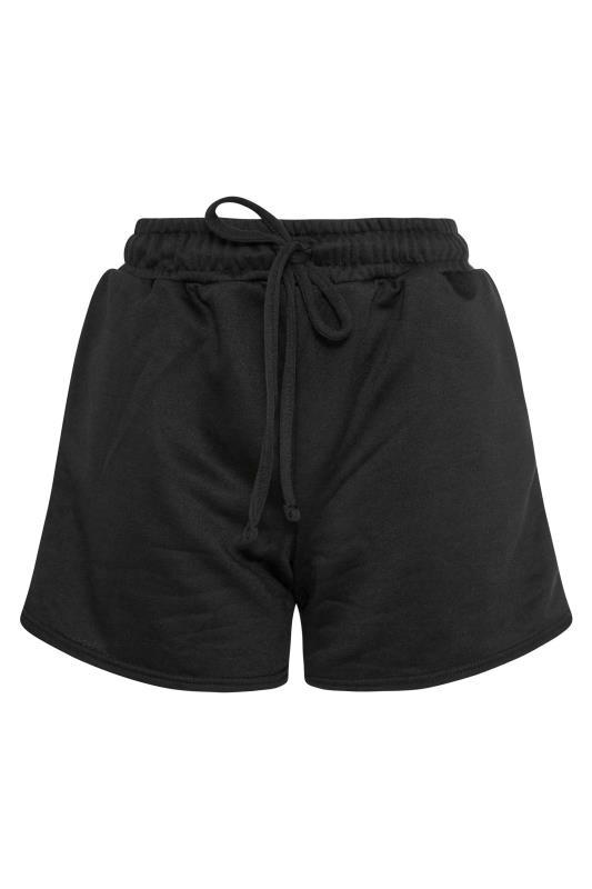 LTS Black Jersey Sweat Shorts_F.jpg