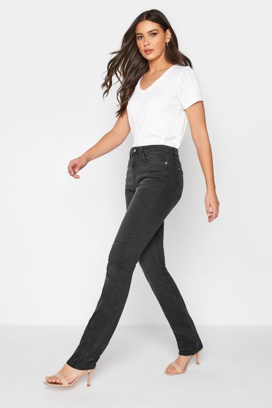Tall  LTS Washed Black Slim Leg Jeans