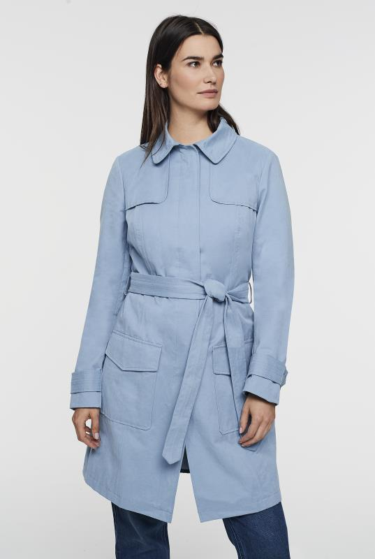 Tall Coats Belted Trench Coat