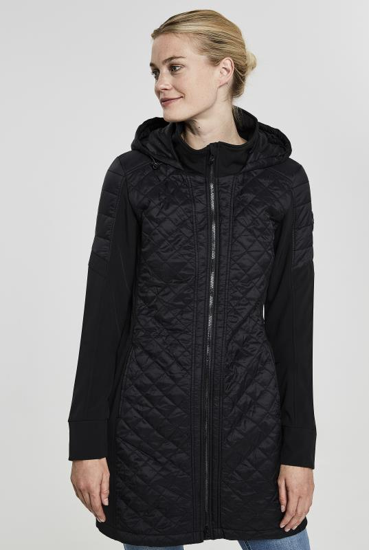 Tall Jackets Point Zero Longline Quilted Softshell Jacket