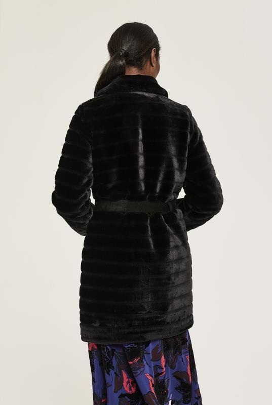 Y.A.S Tall Asala Faux Fur Coat