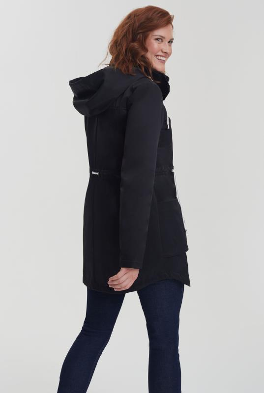Waxed Hooded Coat