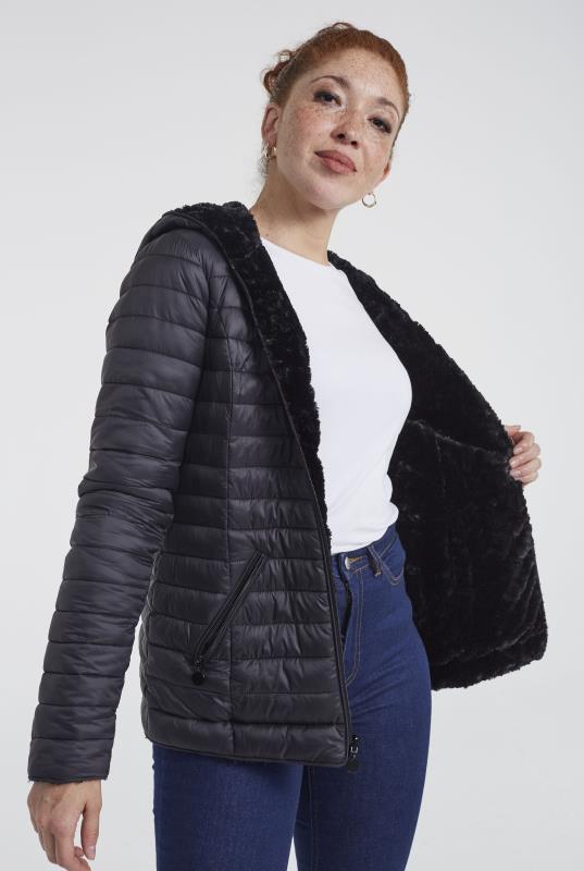 Point Zero Reversible Faux Fur Jacket