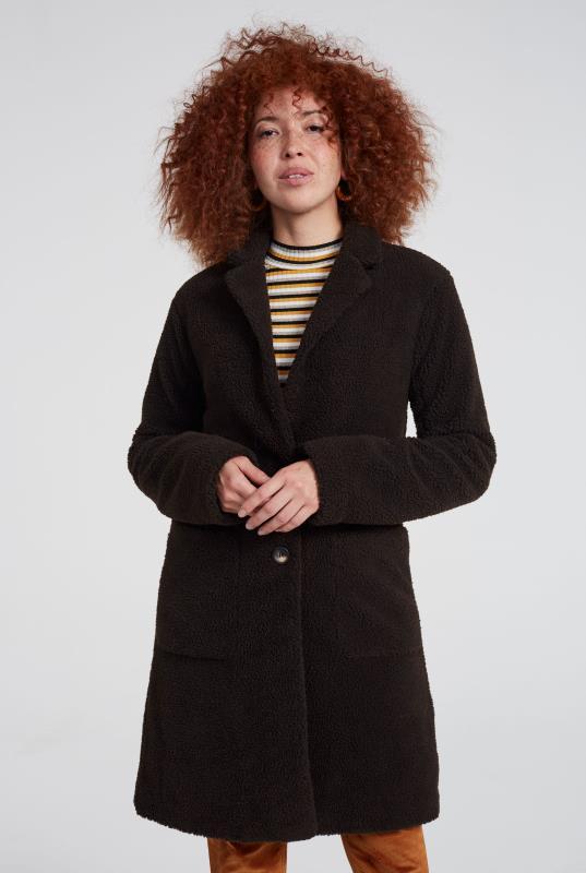 Longline Teddy Coat