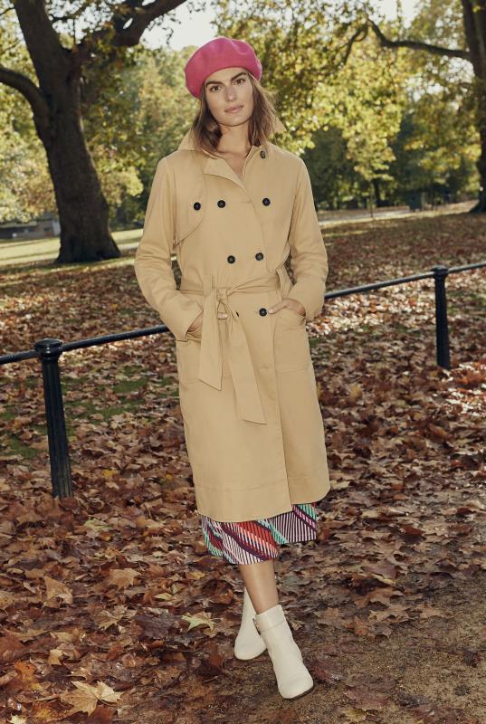 Tall Coats Premium Cotton Trench Coat