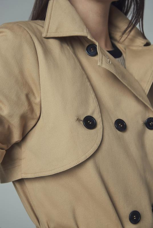 Premium Cotton Trench Coat