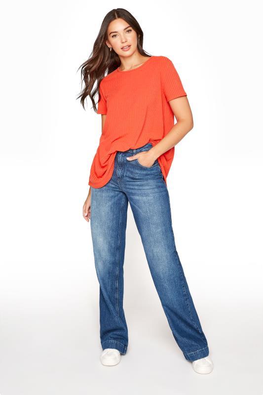 LTS Orange Swing Top