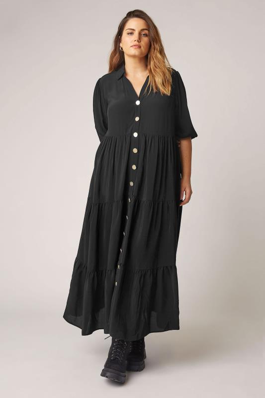 THE LIMITED EDIT Black Tiered Dress_A.jpg