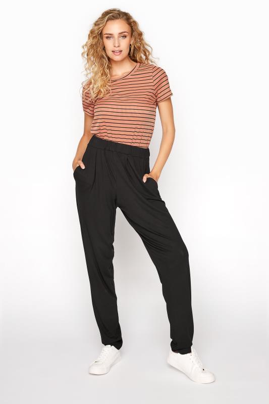 LTS Black Harem Trousers