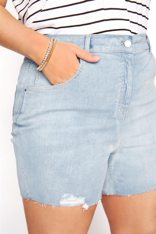 Light Blue Cut Off Distressed Denim Shorts_D.jpg