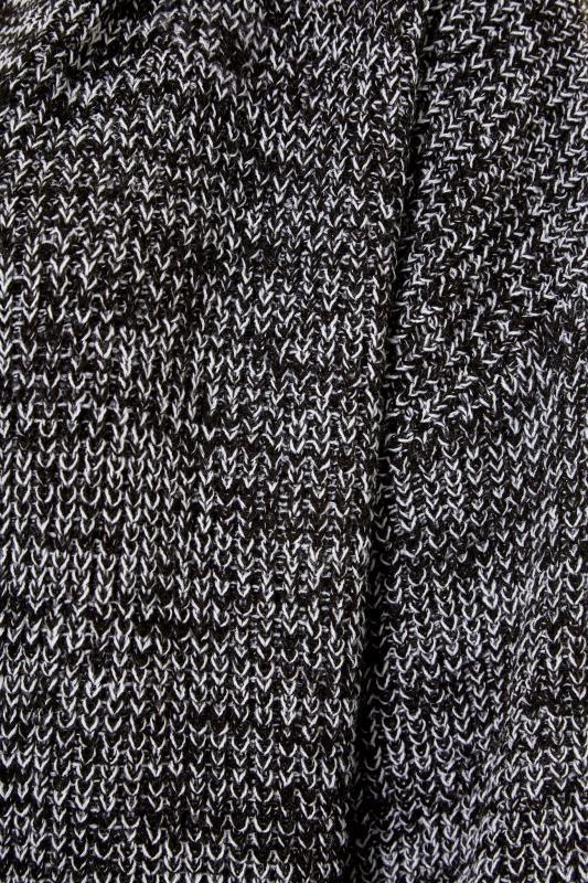 Black Twist Longline Hooded Cardigan_S.jpg